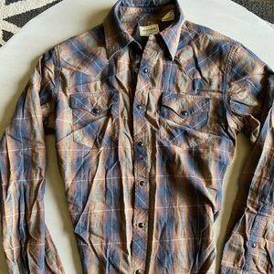 Stetson Western Cut Long Sleeve Shirt